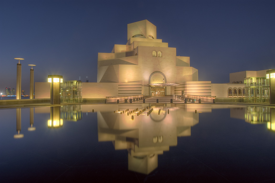 I.M. Pei Islamic Museum of Art Doha Qatar
