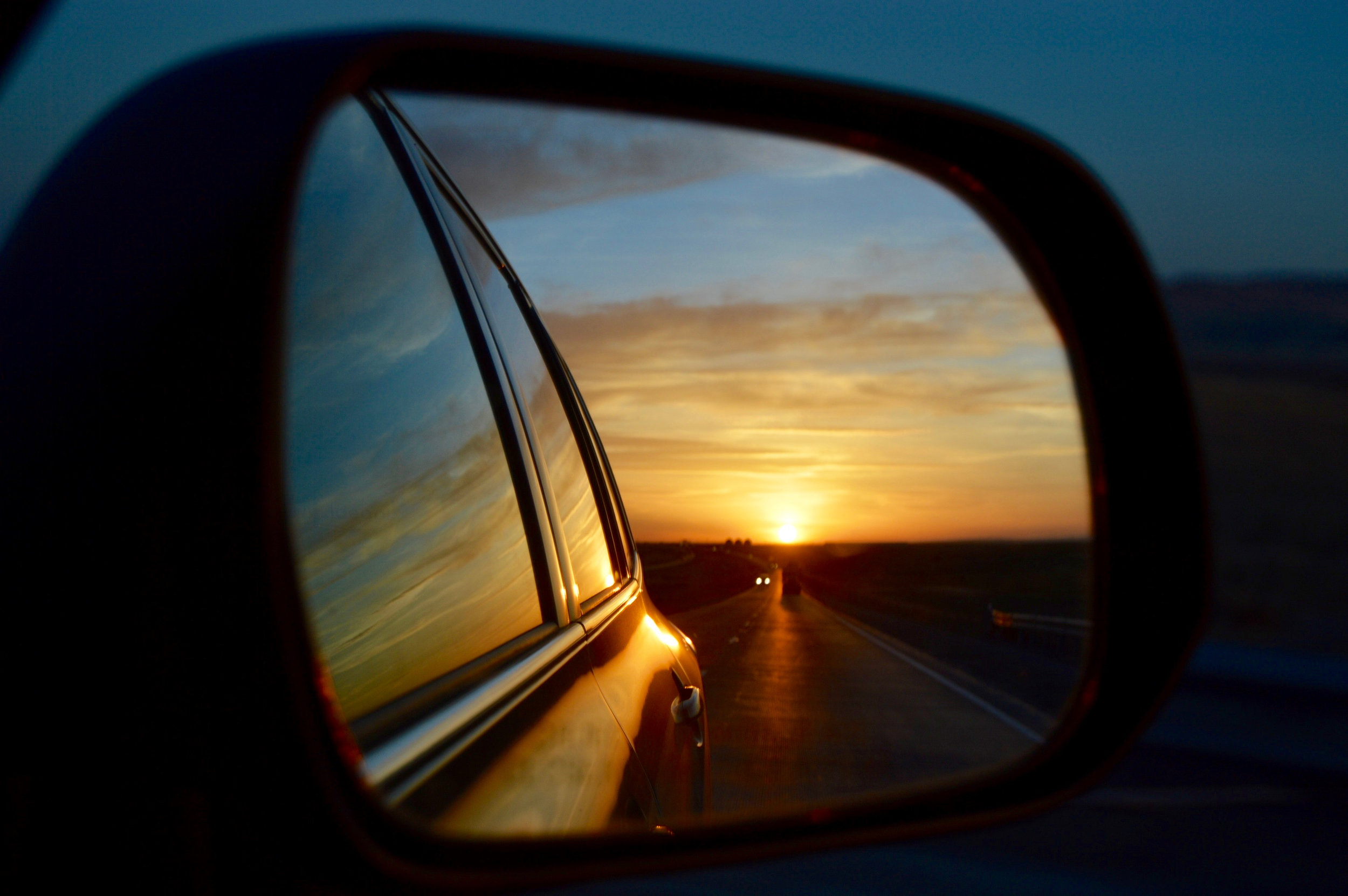 rear view mirror sunset.jpg