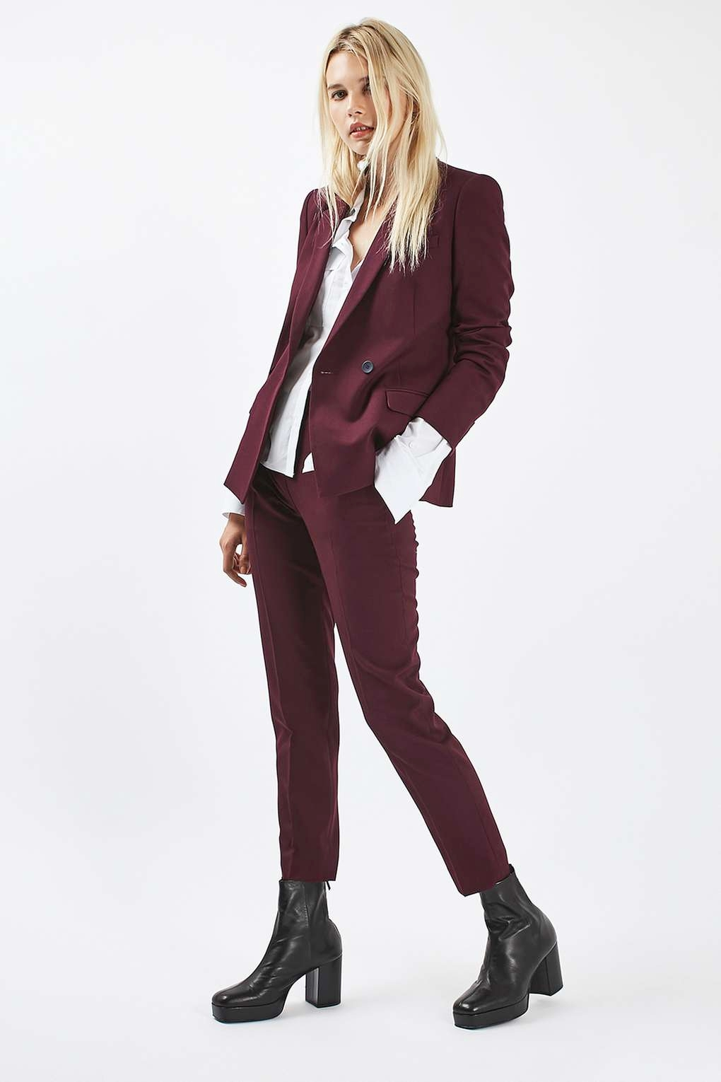 Topshop PETITE Tailored Suit Jacket and Trousers