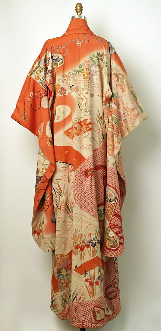 Kimono (Furisode) Date: 20th century Culture: Japanese Medium: silk