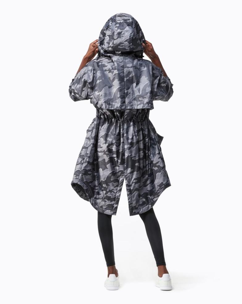 Ivy Park Camo Jacquard Luxe Parka - Women's
