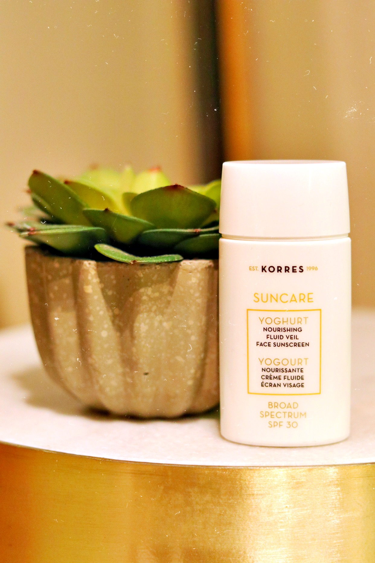 Suncare Essential |KORRES - Korres is a brand that came from a Greek homeopathic pharmacy over 20 years ago. they use natural + high quality ingredients that are environmentally friendly + cruelty free. they incorporate the use of greek flora directly from greece's unique environment. i decided to invest in good suncare so that i could protect my face + neck every day. i use korres Nourishing Fluid Veil Face Sunscreen SPF 30.favorite ingredients: Yoghurt which is Rich in skin-repairing proteins; they also included Rice & Camapu Extract for calming, and Provitamin B5why: i love that i can add a few drops into my moisturizer to create a daily sun barrier. it's very lightweight but still has a hint of that sunscreen scent so you know it's really working.when: i try to use it every single day
