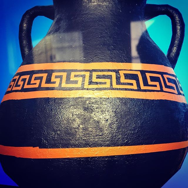 Clay Greek Vase 🏺 #blender3d #substancedesigner #substancepainter #2019 #3d #movieart #gameart #gameassets #knowledgeispower #greek #assassinscreedodyssey #ubisoft #havok