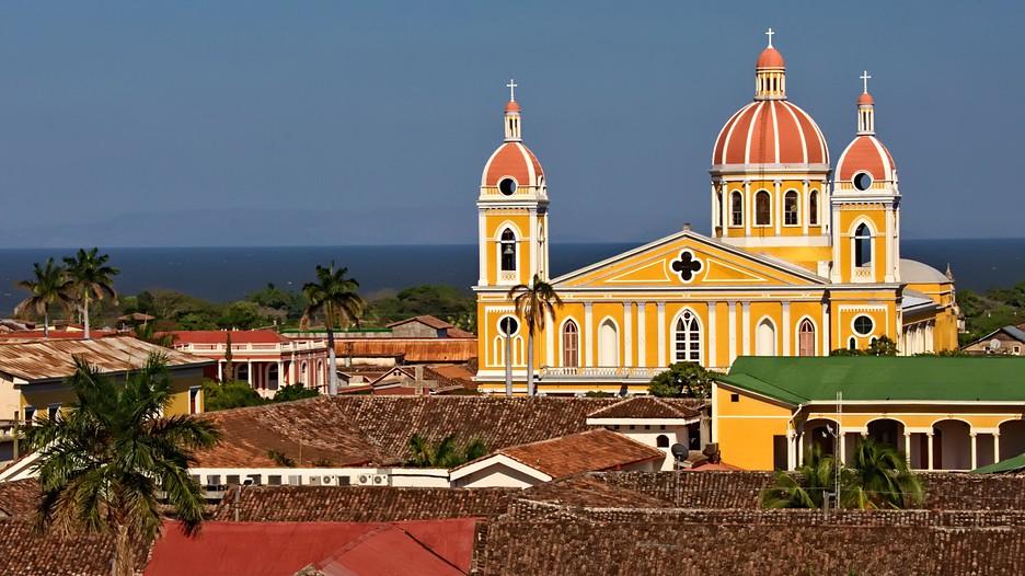 Colonial Spanish City Granada Nicaragua
