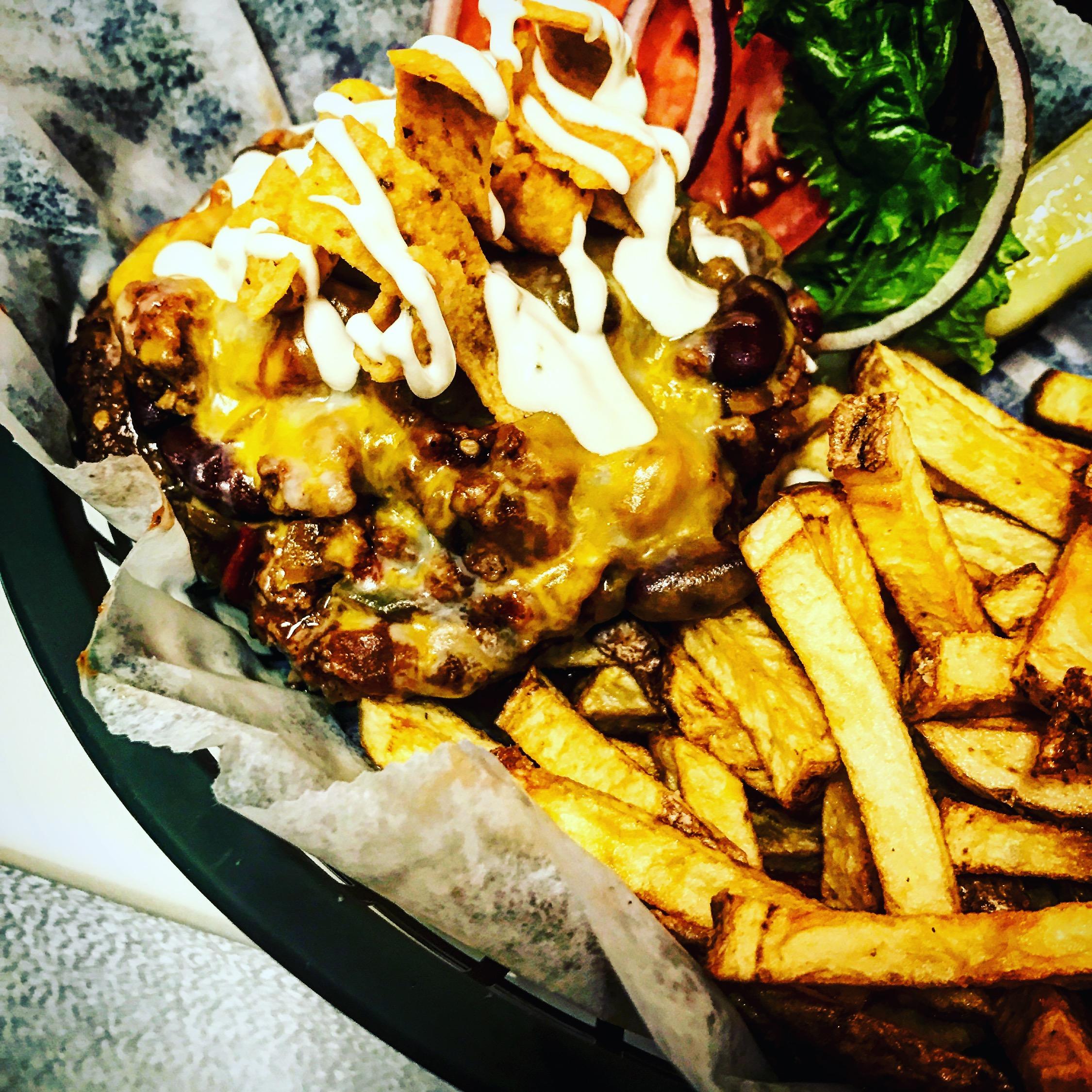 Chili Frito Burger