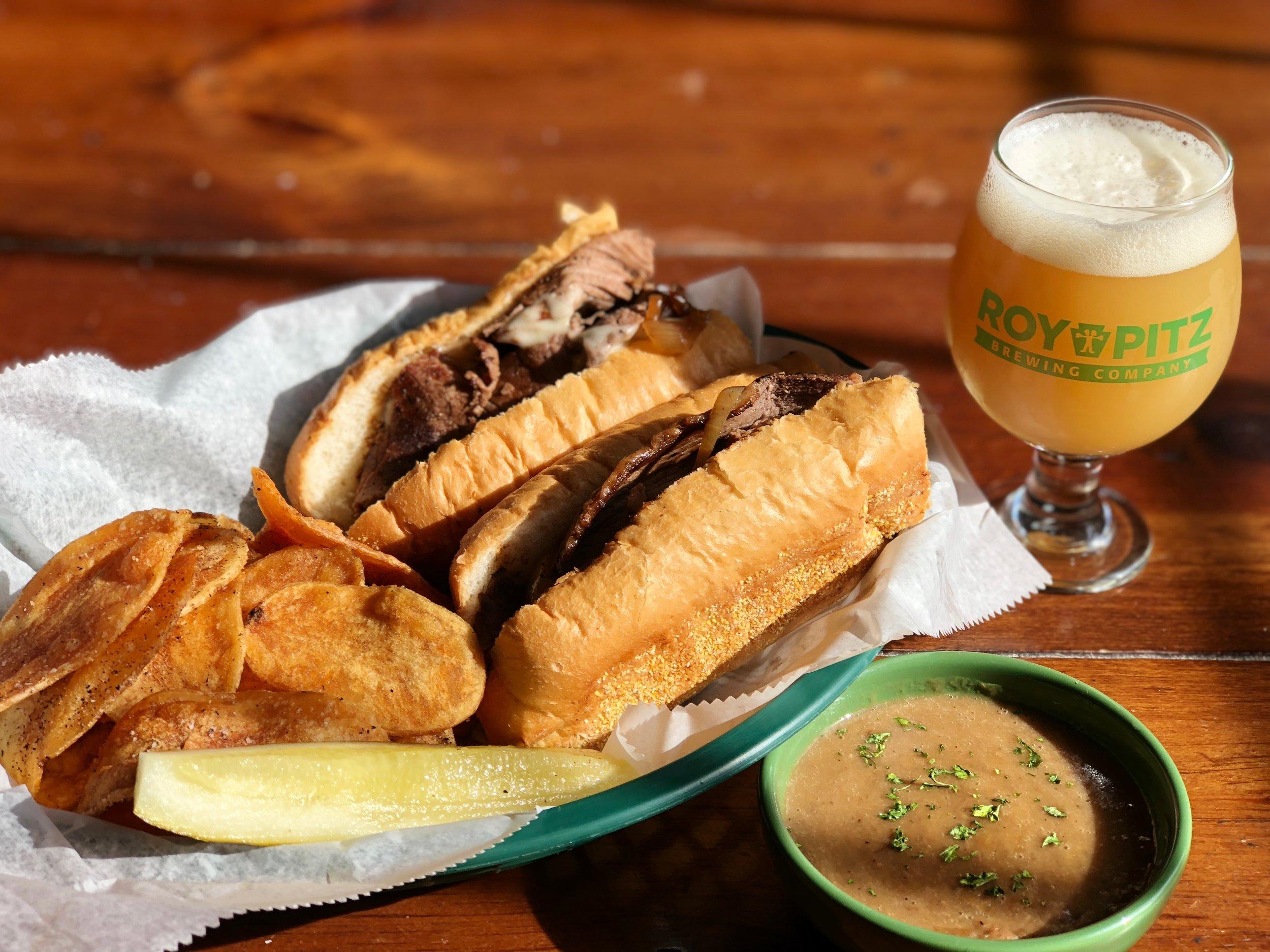 Hot Roast Beast Sandwich