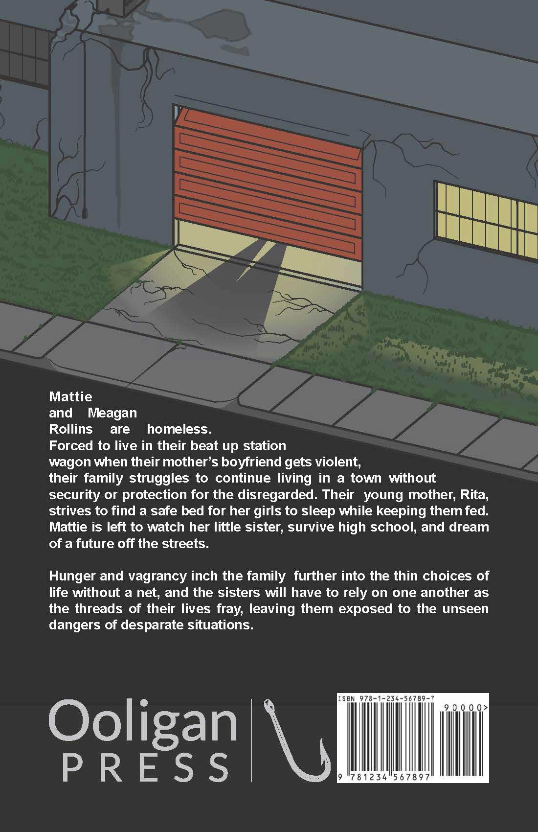 Back Cover Submission for Sleeping in my Jeans