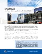 Rmax Project Profile - Golden 1 Center