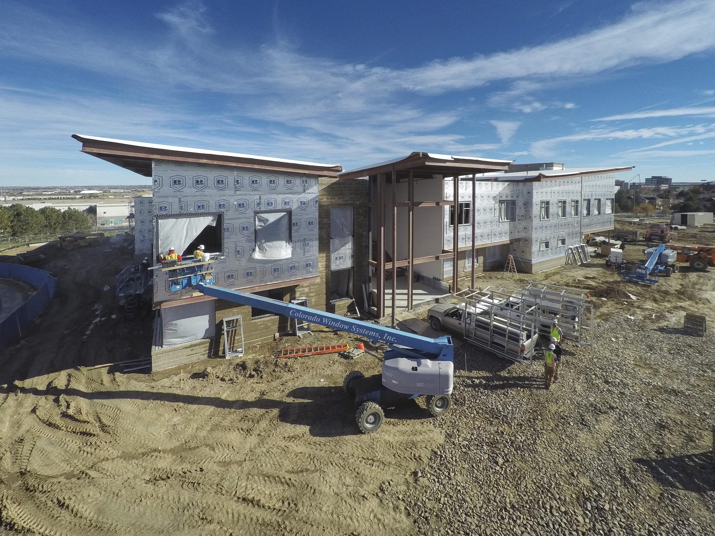 Shiloh House - Centennial, Colorado: ECOMAXci™ Wall Solution