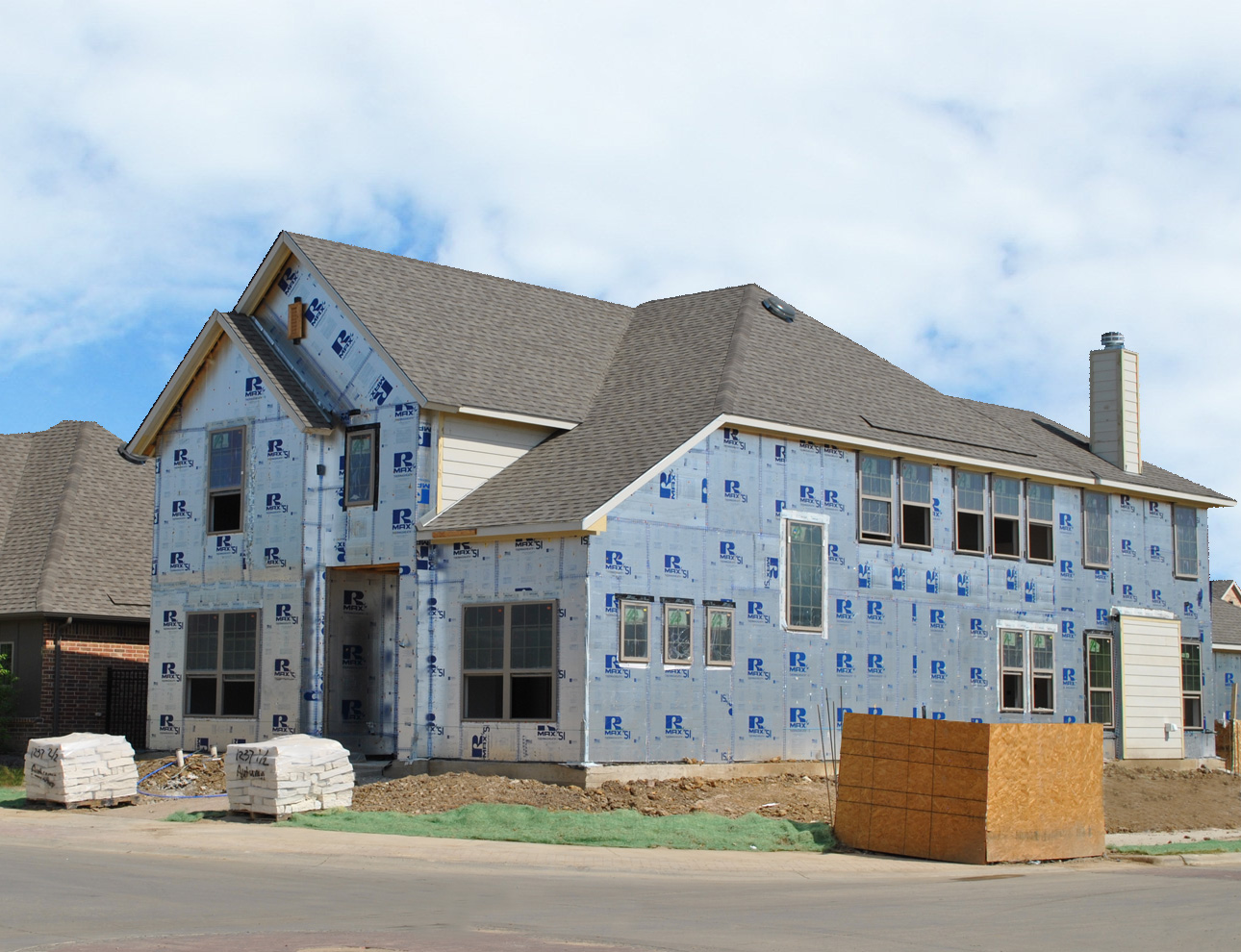 Rmax Thermasheath-SI - Drees Homes, Arlington, TX
