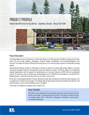 Rmax Project Profile - The Robert Maloff Center of Excellence