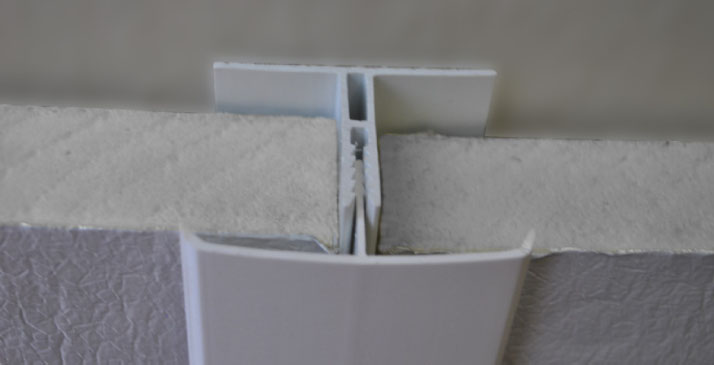 Two-Piece Flex-Tite wall installation using TSX-8510