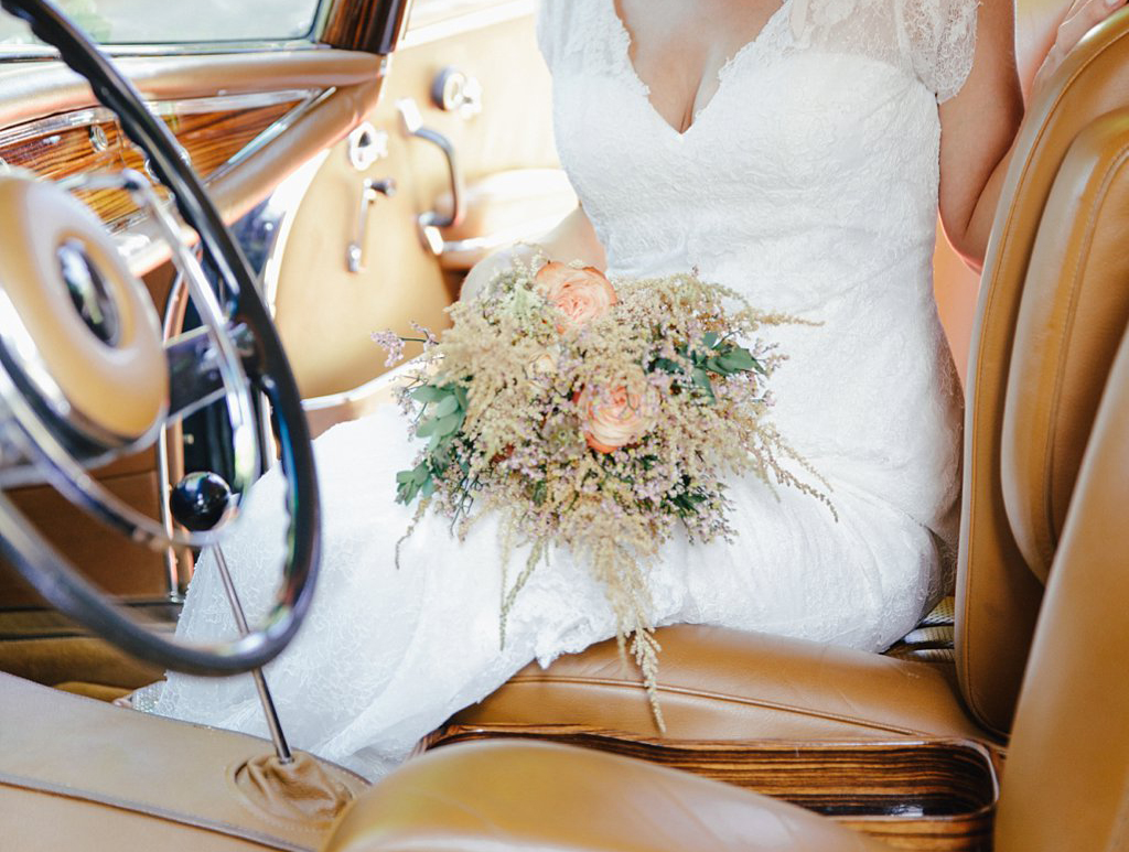 Brautstrauß Vintage elegant nostalgisch