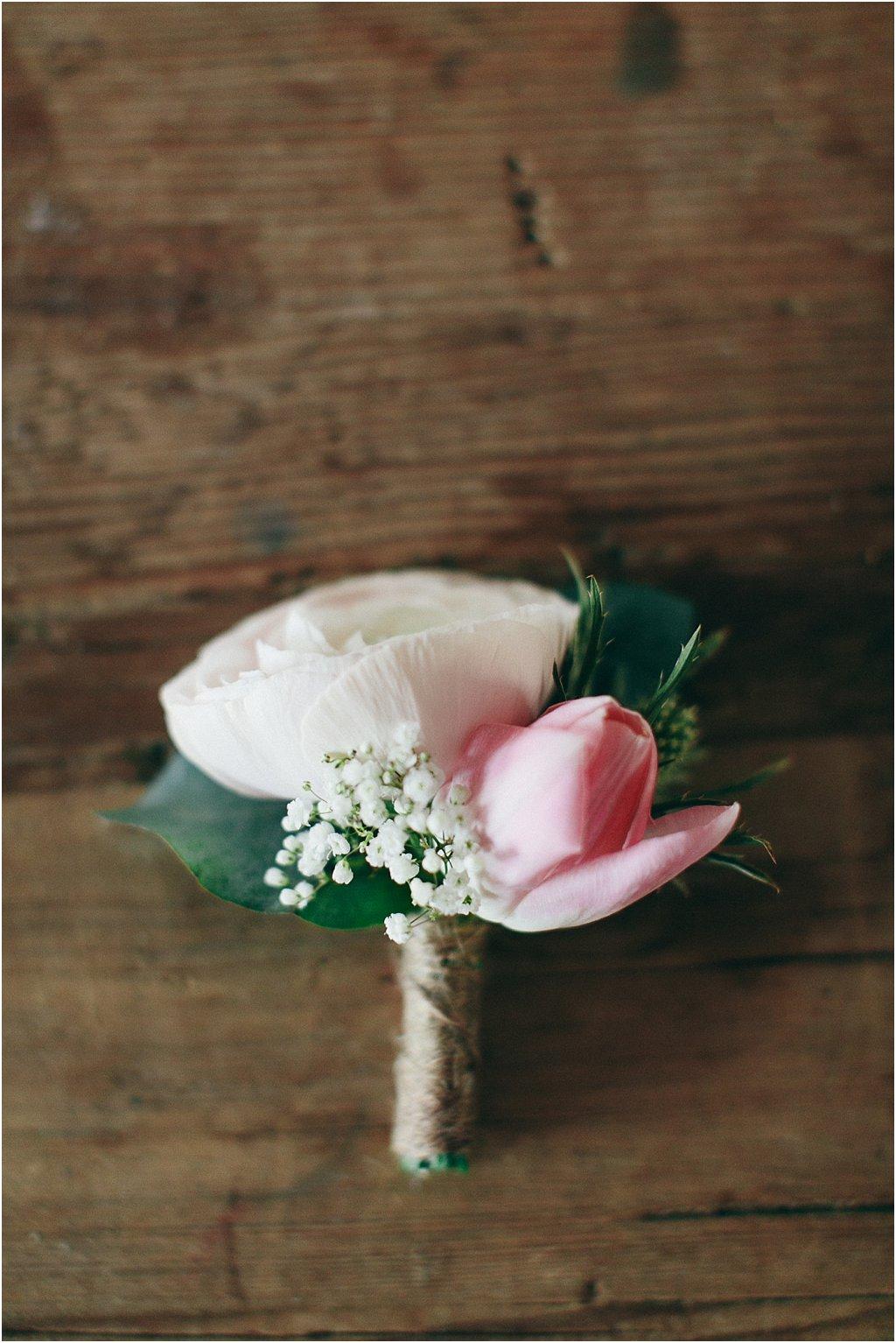 Anstecker Hochzeit rustikal