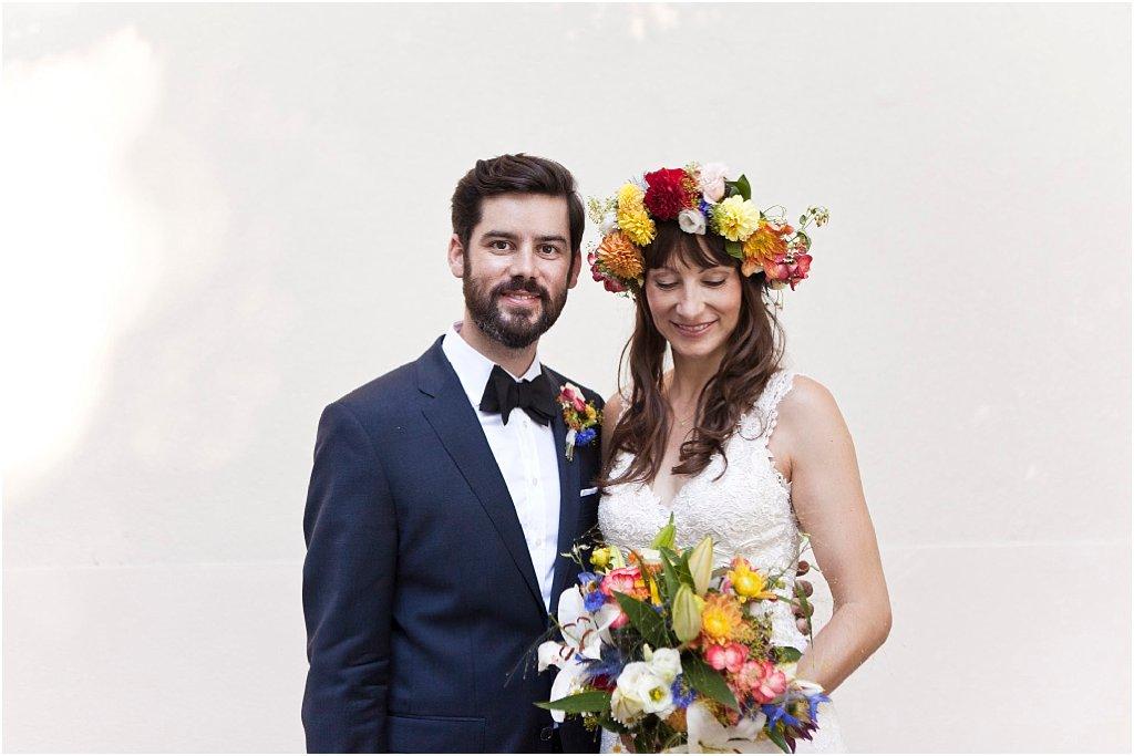 Folklore Hochzeit bunt