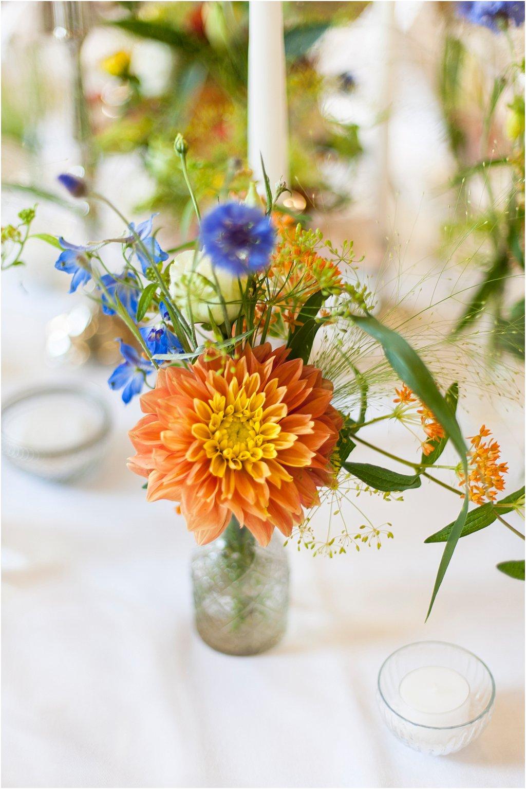 Blumen Folklore bunt