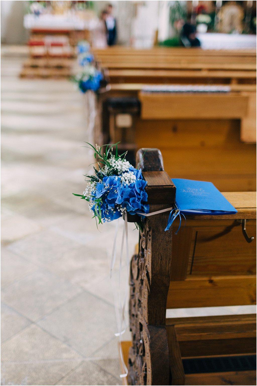 Blumenschmuck Hochzeit Kirche