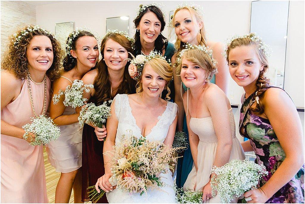 Brautjungfern Haarkranz