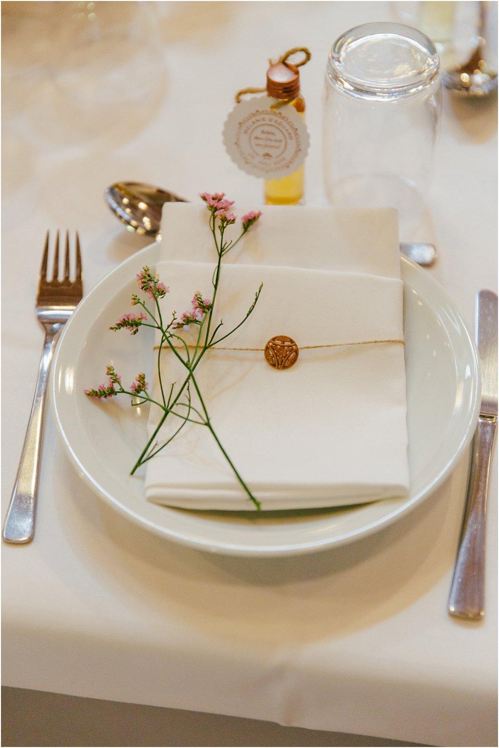 Hochzeit Serviette Dekoration