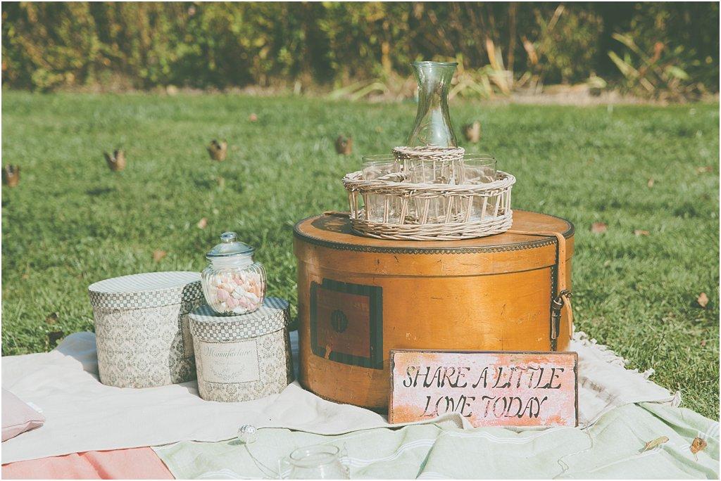 Picknick Hochzeit