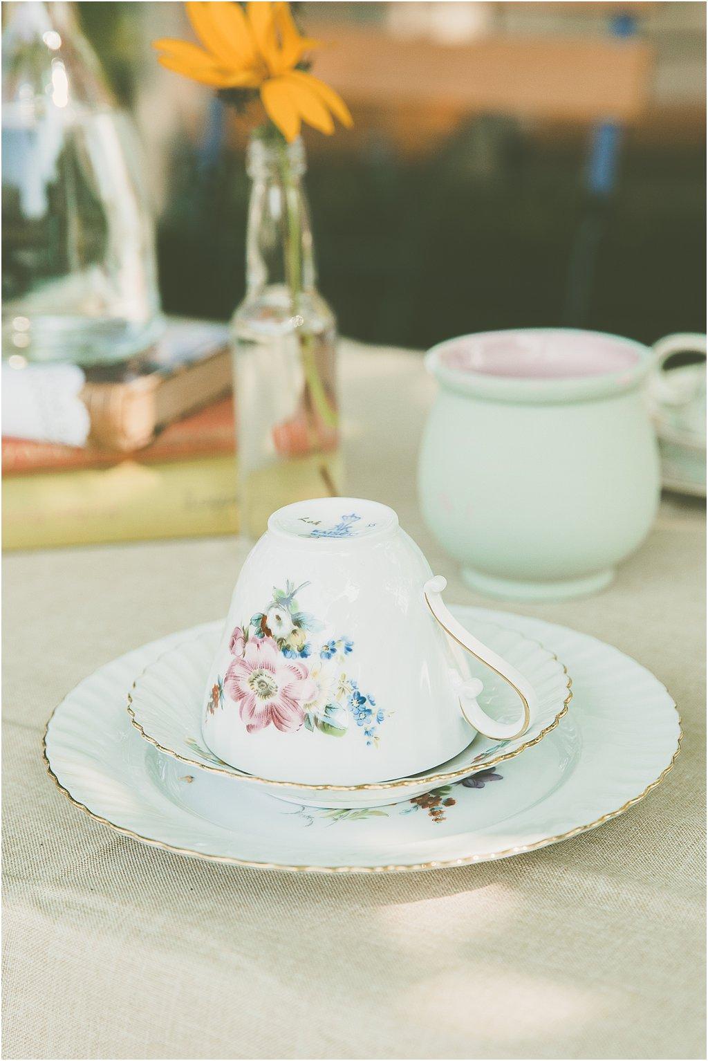 Kaffeetasse Vintage Porzellan