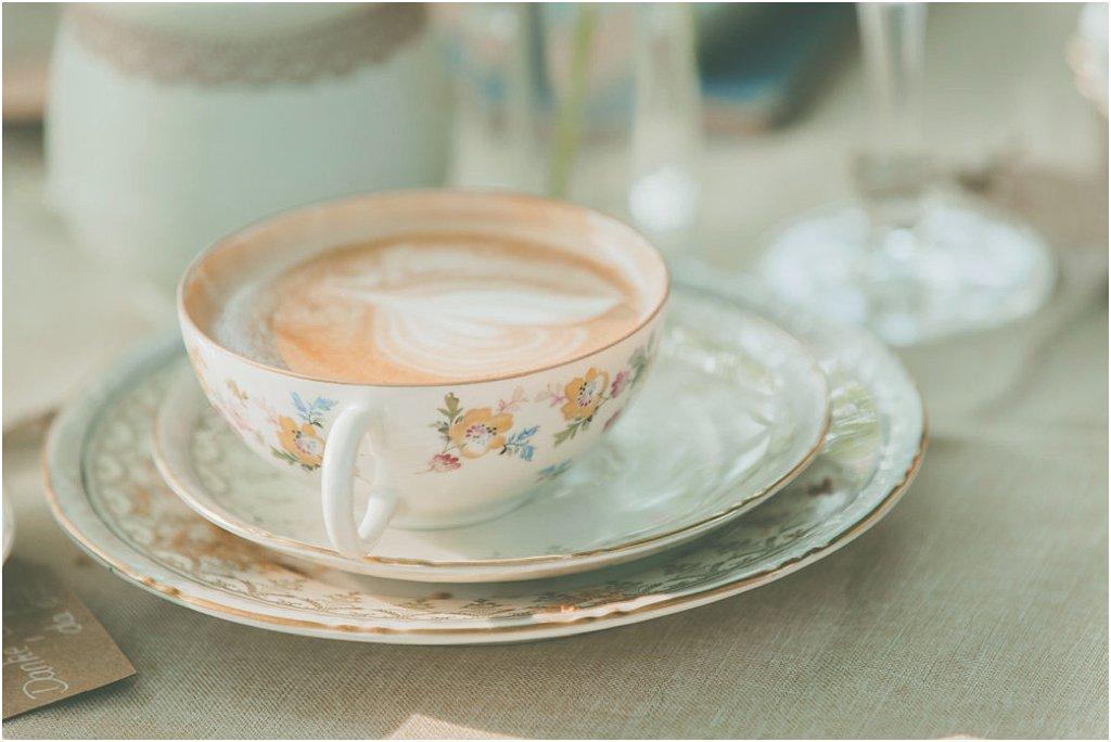 Kaffeetasse nostalgisch Porzellan