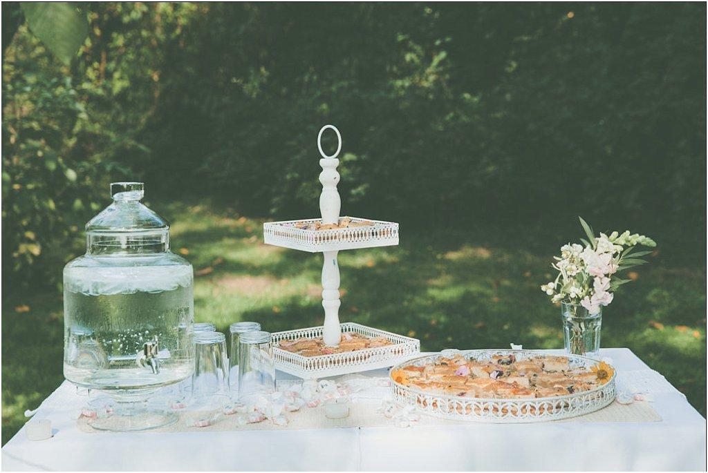 Kuchentheke Hochzeit