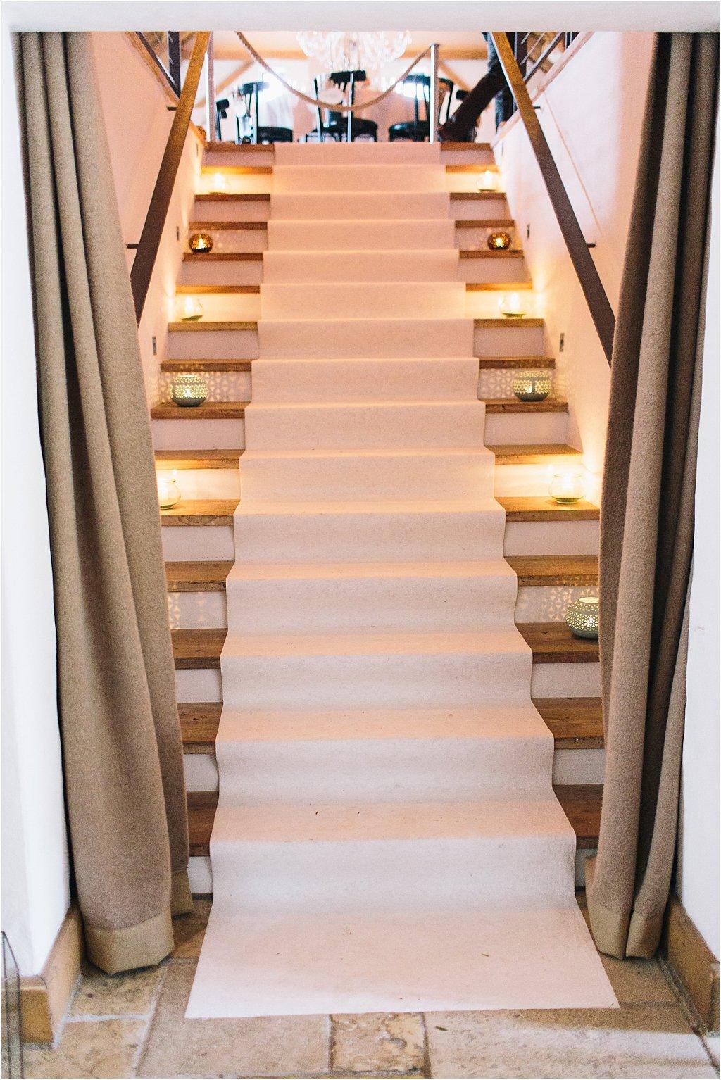 Teppichläufer weiß