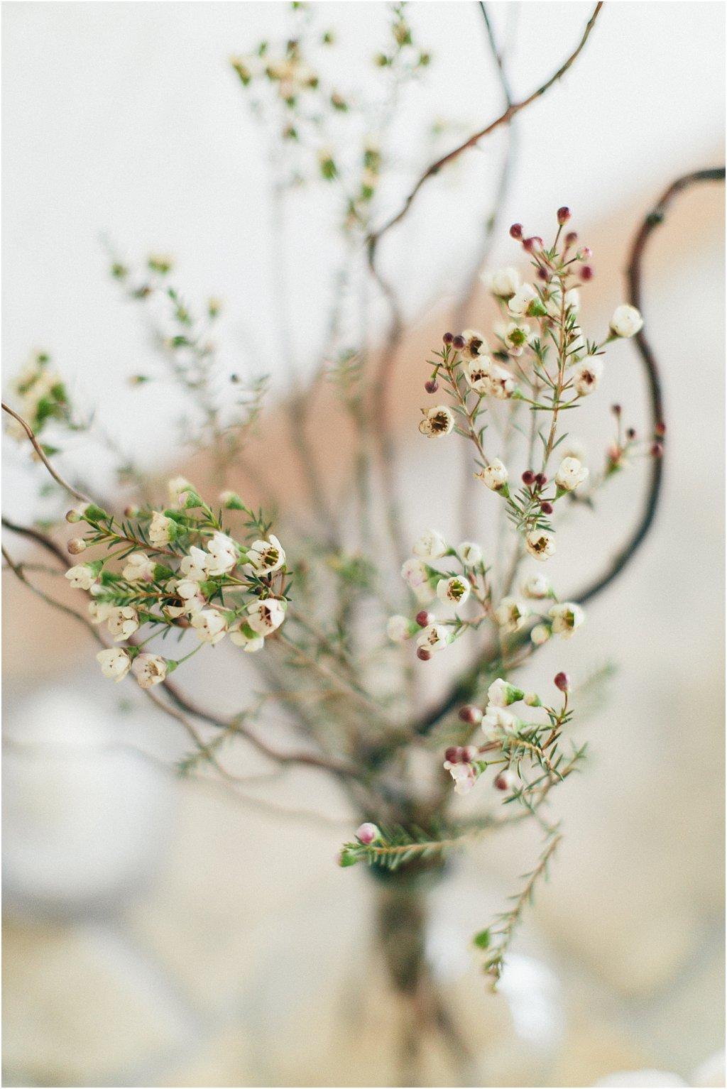Wax Flower Winterhochzeit