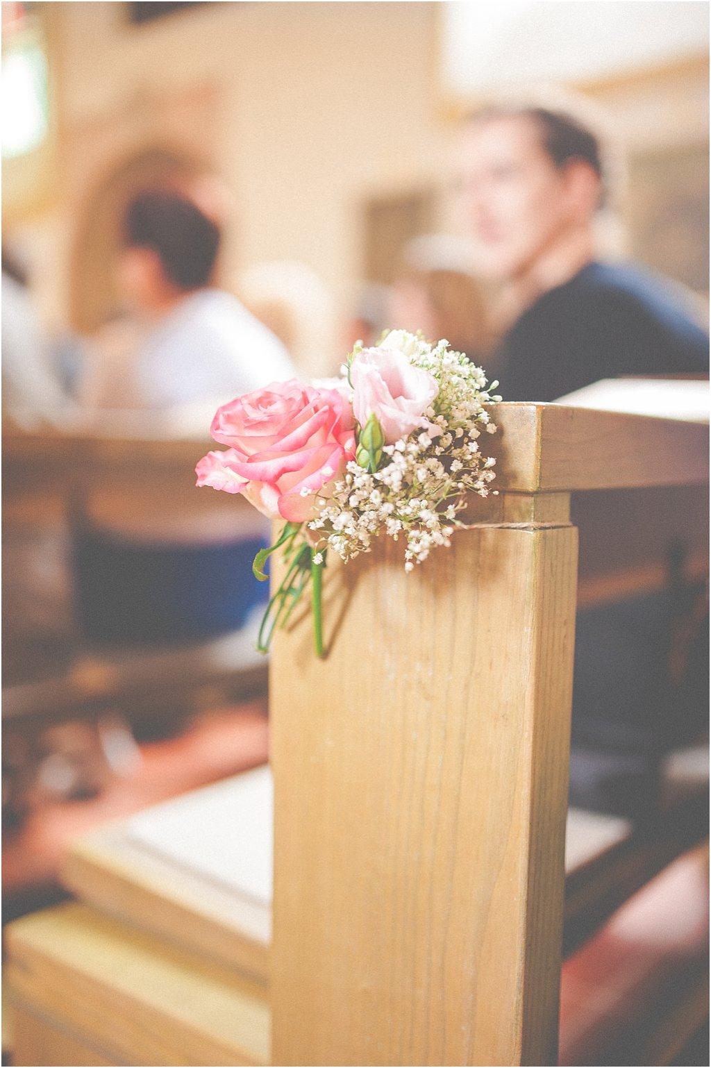 Kirchenblumen Hochzeit