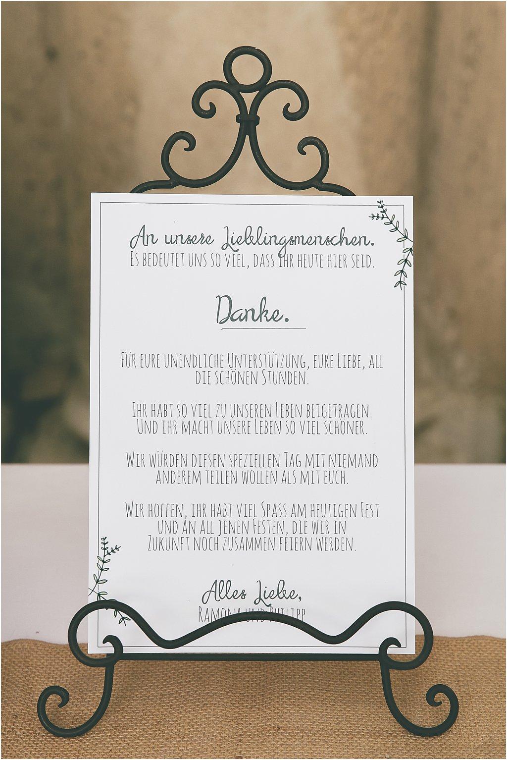 Persönlicher Brautpaargruß