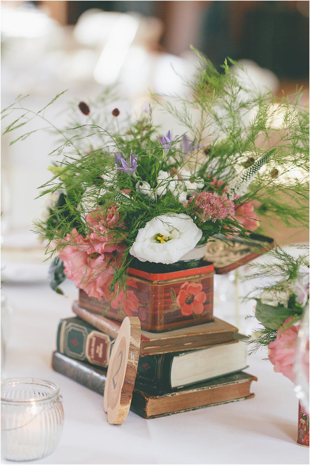 Dekoration mit Büchern