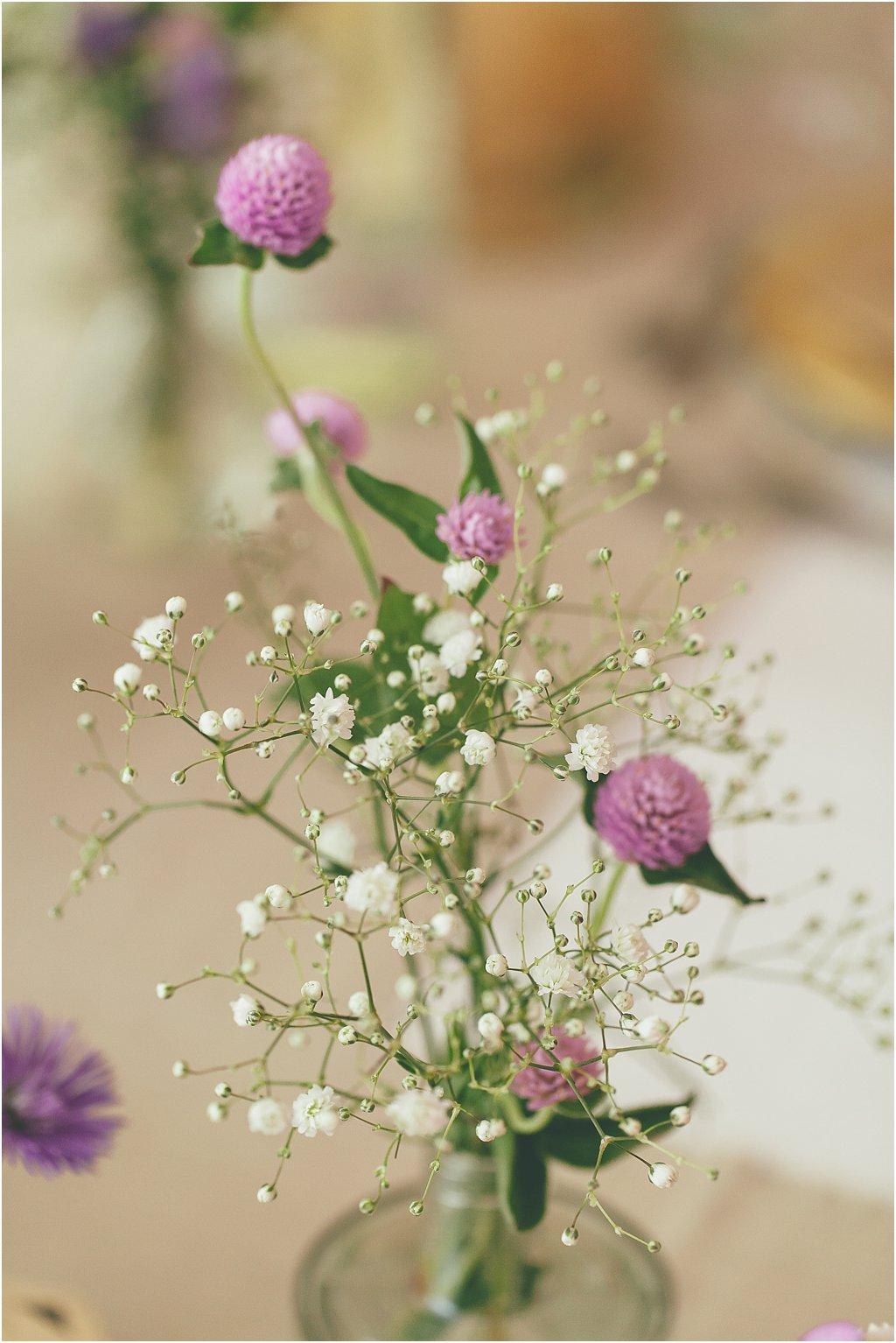 Wiesenblumen lila