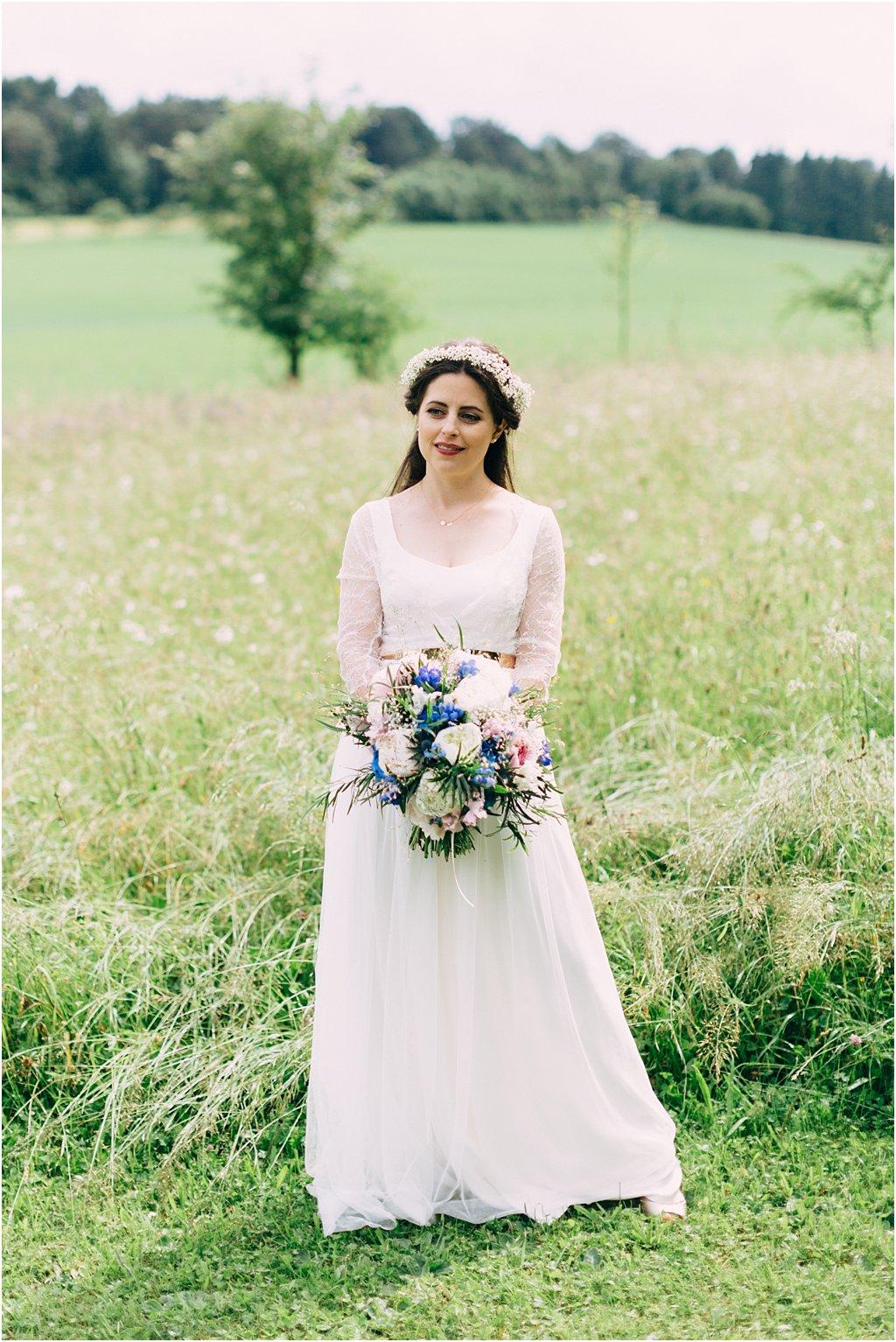 Hochzeit Maisenburg Blau-Gold