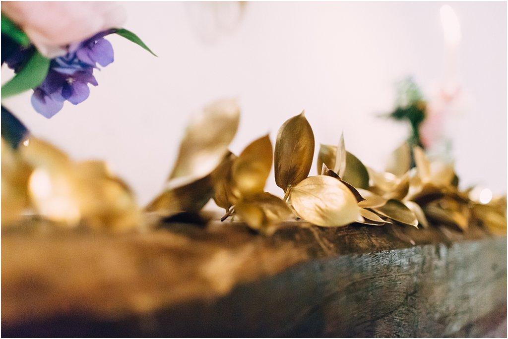 Dekoration Hochzeit Gold