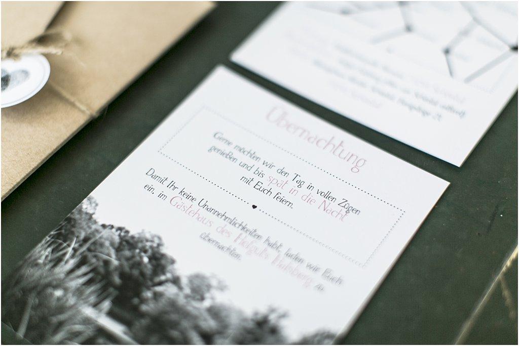 """Detailansicht Einsteckkarte """"Übernachtung"""""""
