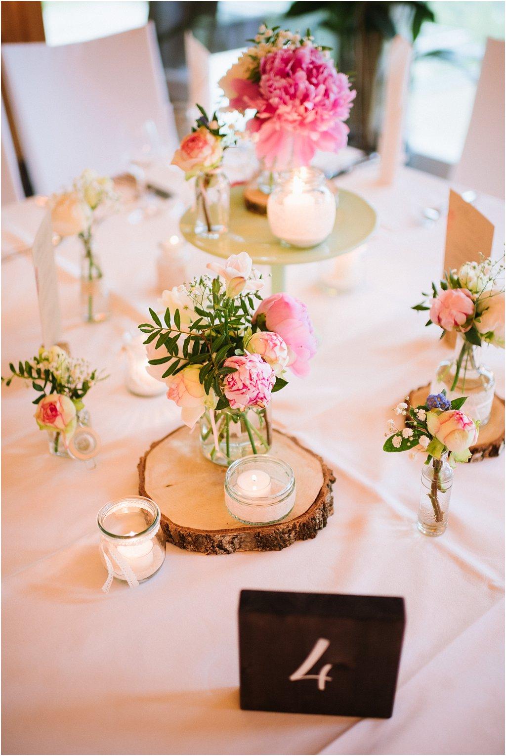 Dekoration Vintage Hochzeit