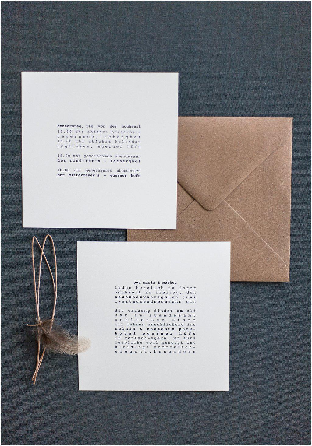 Rückseiten Einladung