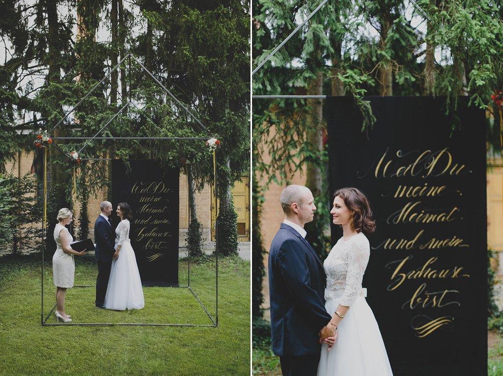Pavillon Trauung Hochzeit