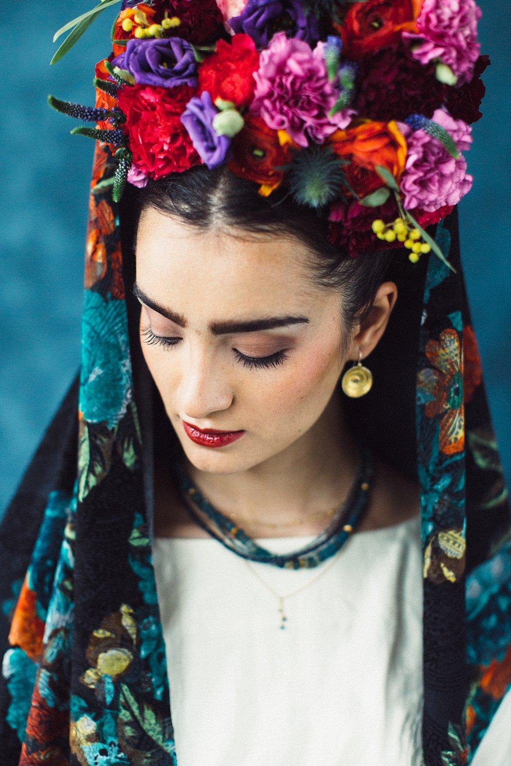 Kopfschmuck mit Blumen Brautschmuck 2017