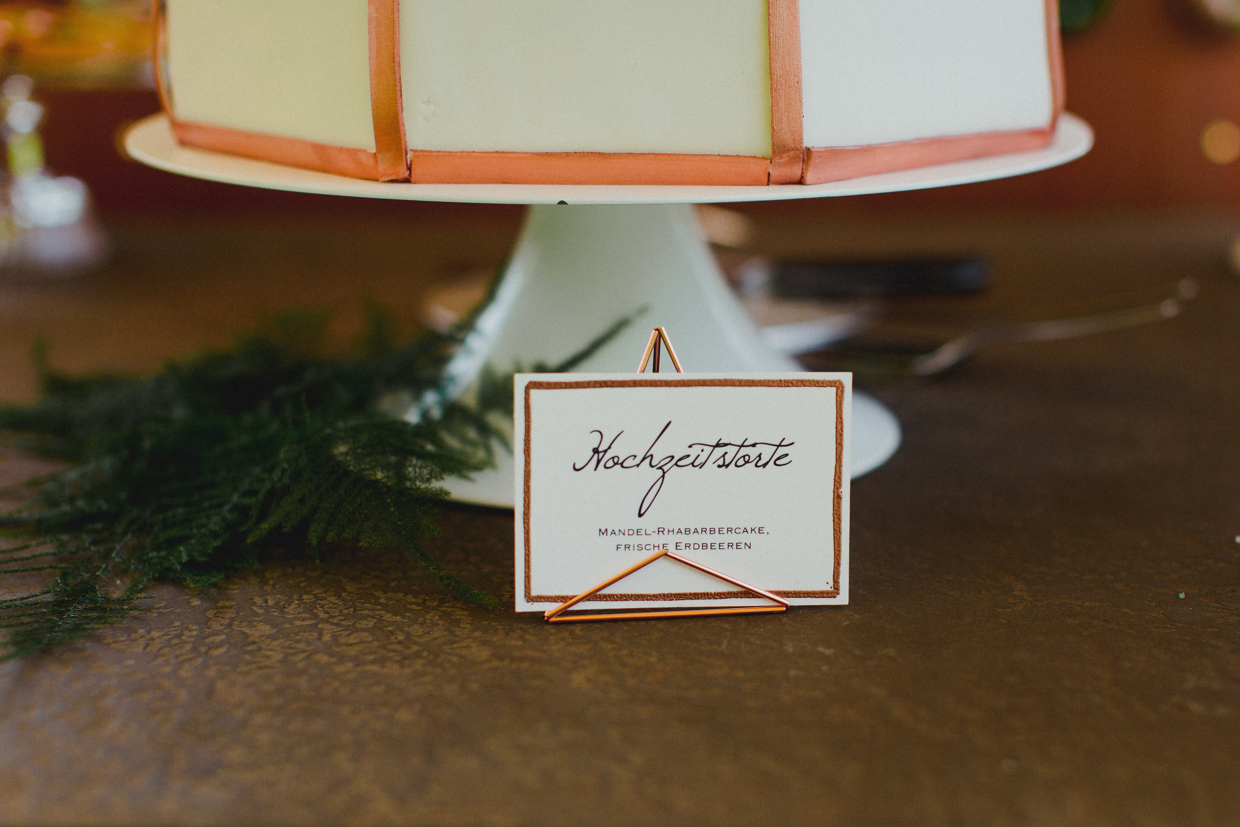 Aussteller Candytable Candybar Hochzeitstote Kupfer