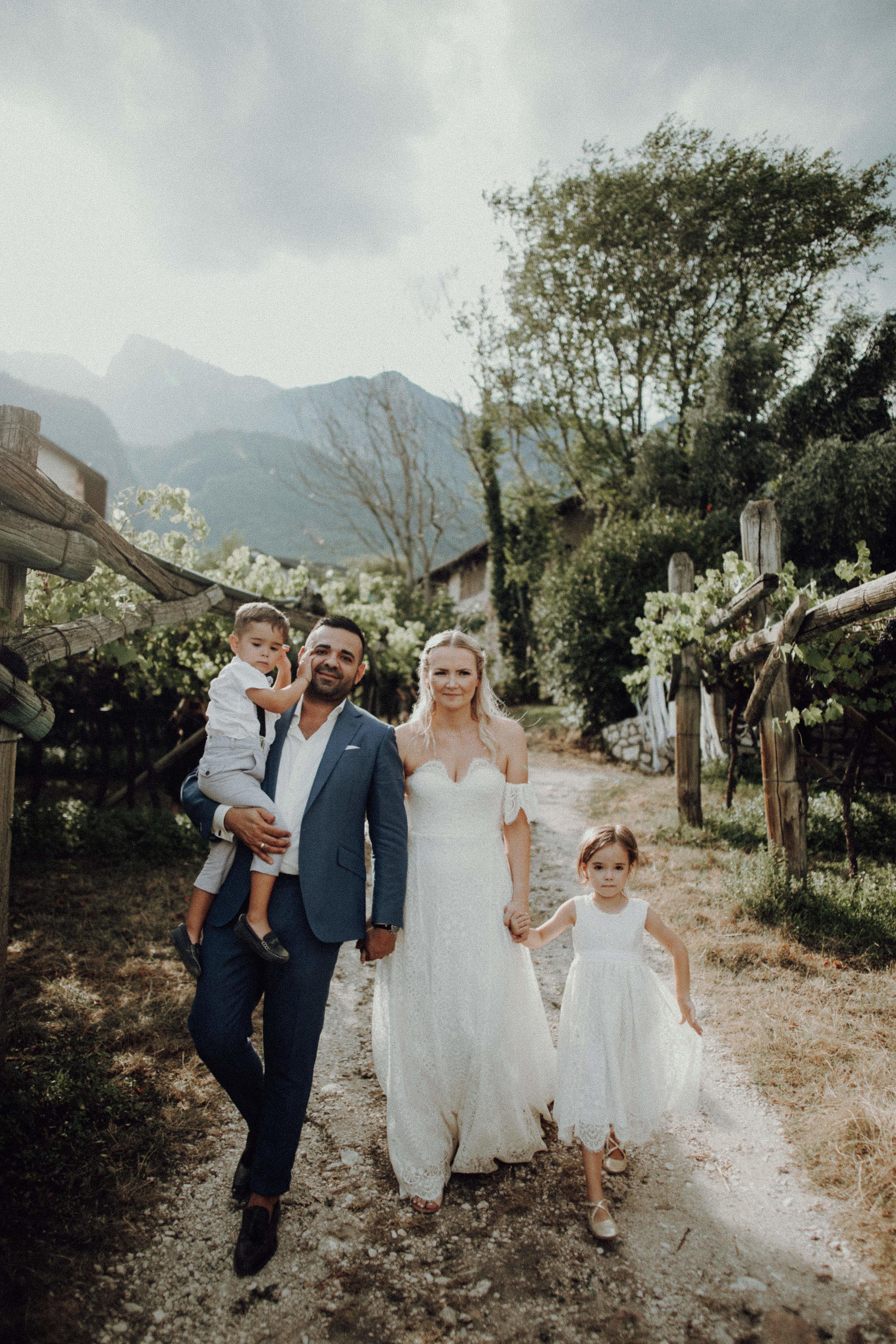 Brautpaar 2018 Italienhochzeit