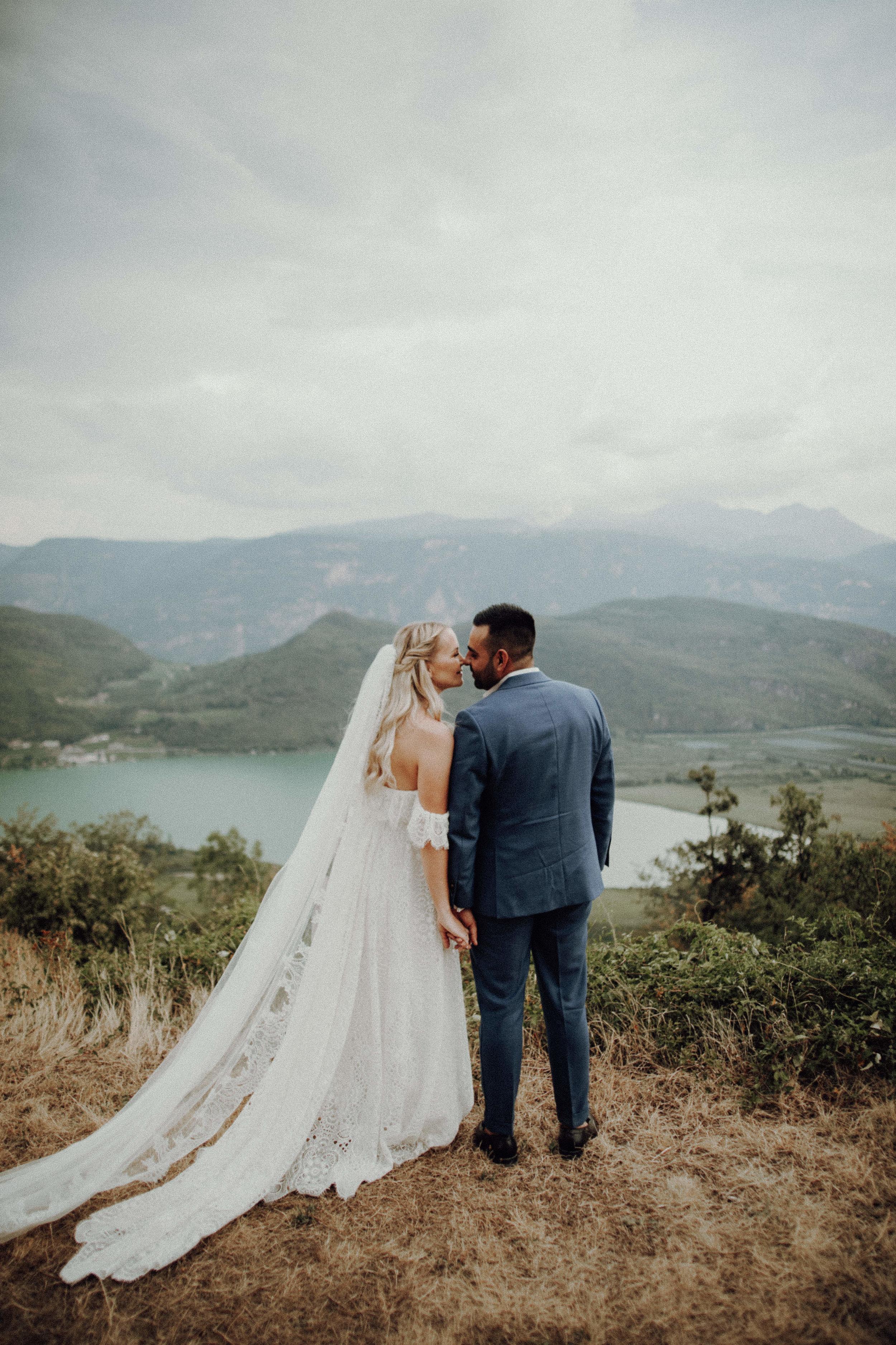 Brautpaar 2018 Kalterer See