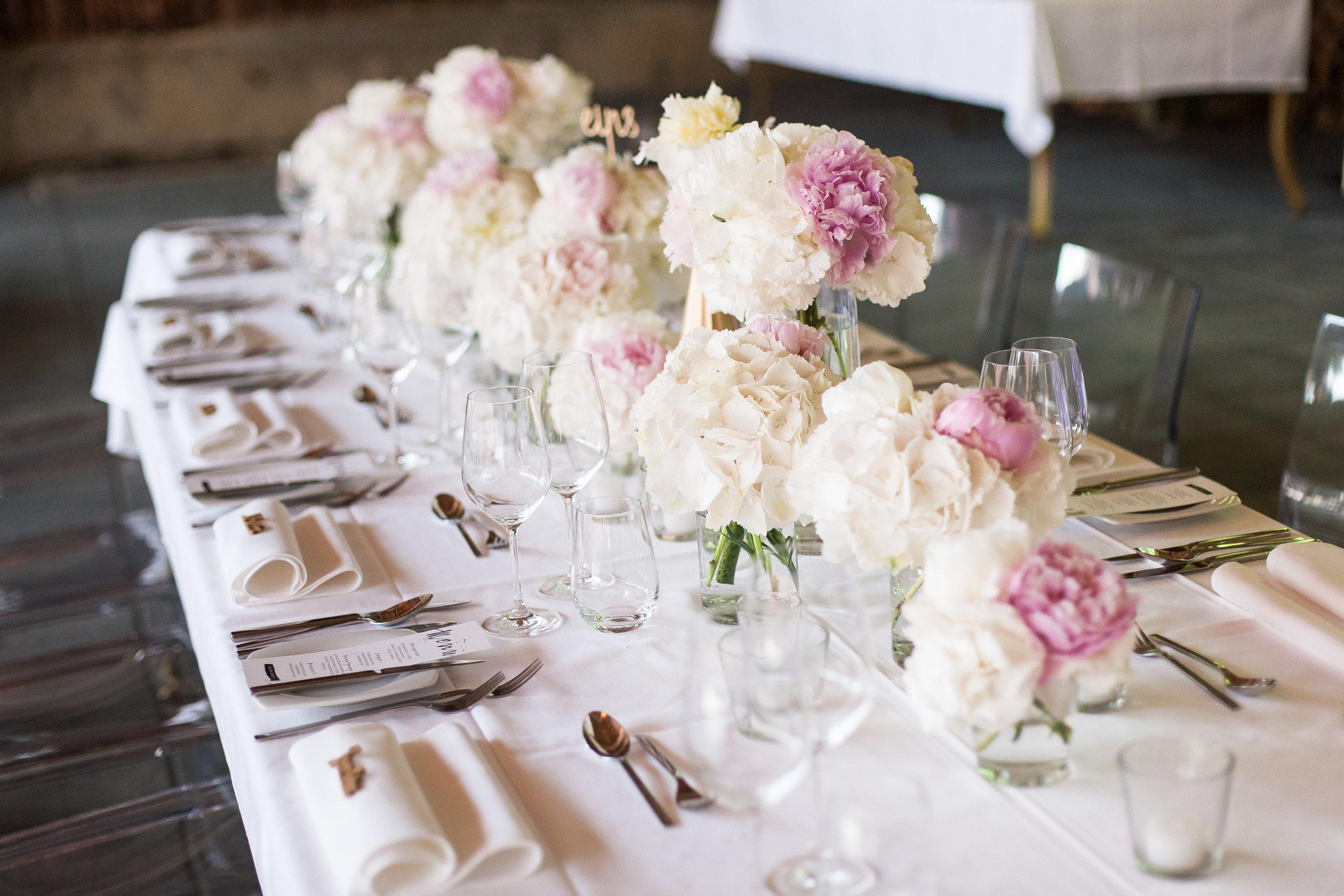 Hochzeitsfloristik modern
