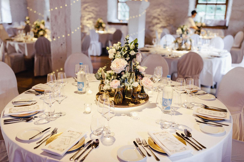 Tischdeko Hochzeitsdeko Centerpiece