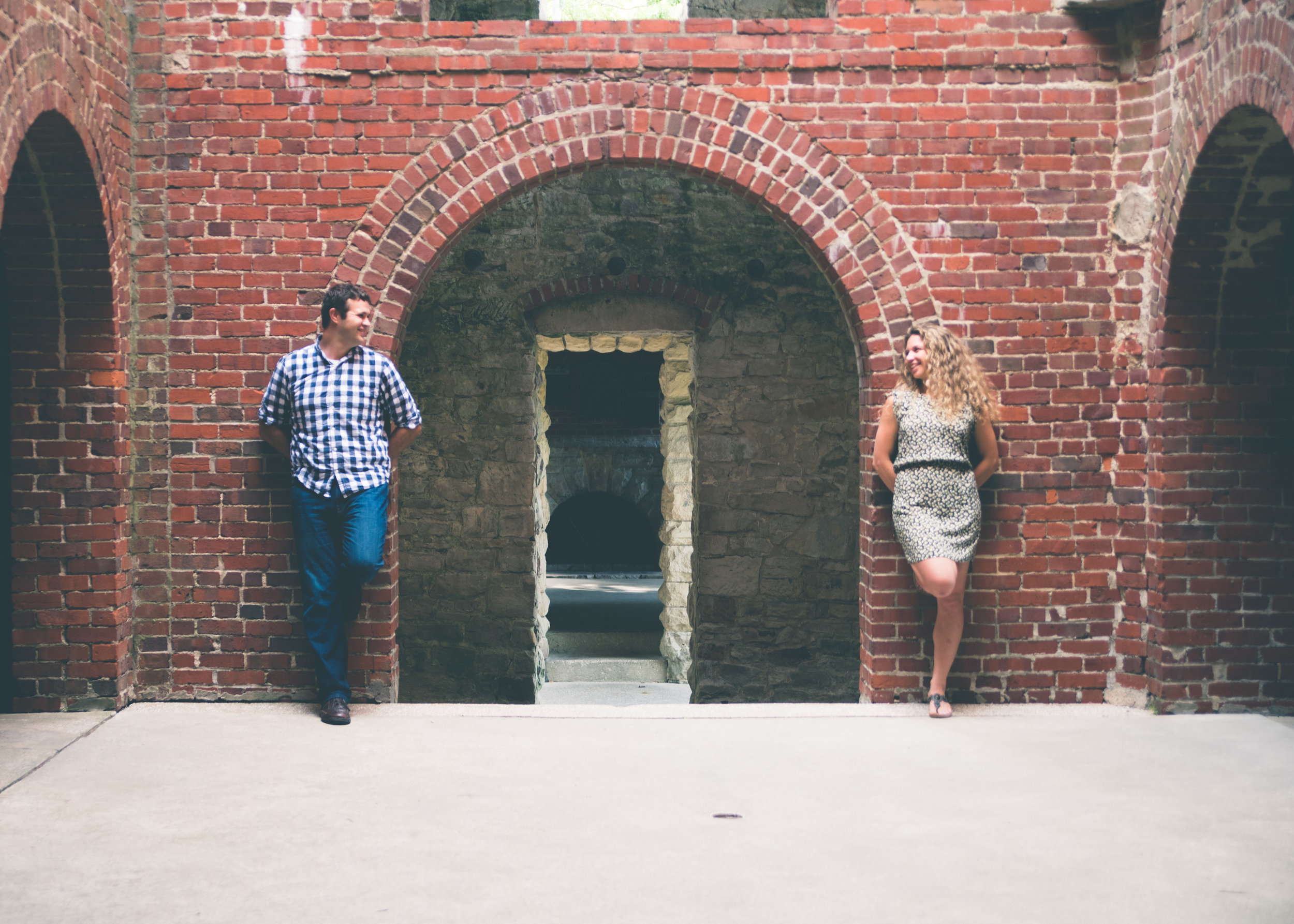 Engagement Session. Squires Castle. Cleveland OH