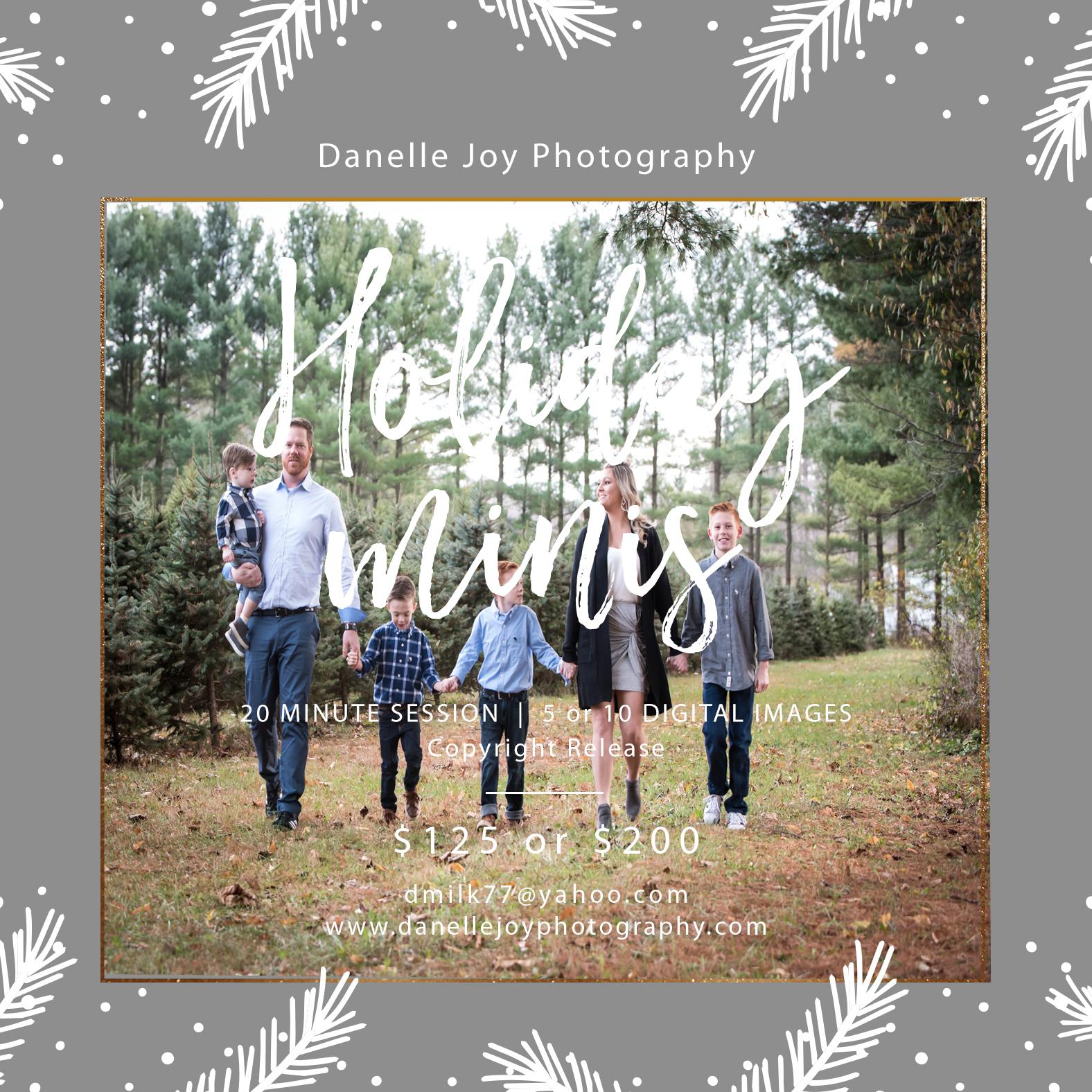 Cleveland Family Photographer   Cleveland Christmas Photo Sessions