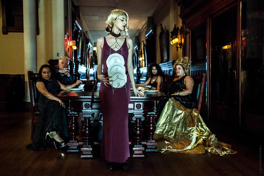 Sofia Ortega Cordoba as 'The Maid', Park Avenue Armory, Photo by Maria Baranova