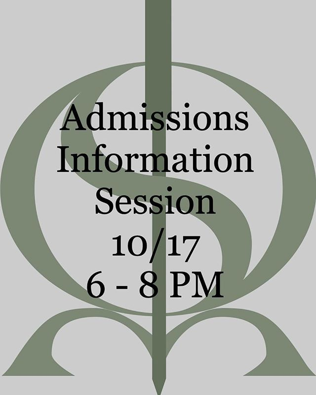 SIEAM is having an admissions info session 10/17. If you've been thinking about getting your M.Ac, M.Ac.O.M, or D.A.H.M stop by and talk to our faculty and staff!  #admissions #sieam #acupuncture #eastasianmedicine #seattle #chinesemedicine #chineseherbs #herbalmedicine