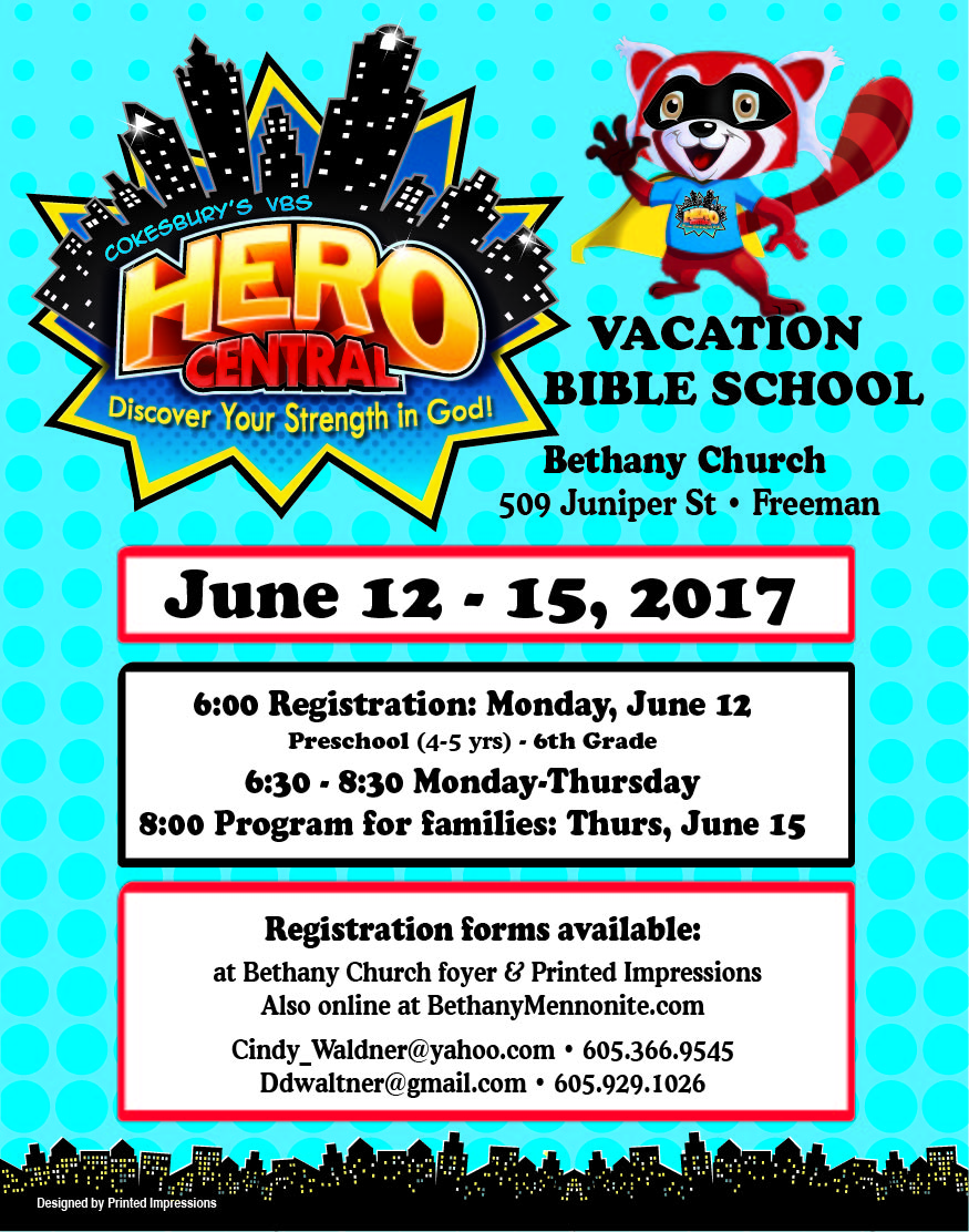 Click to view a larger version of this VBS poster